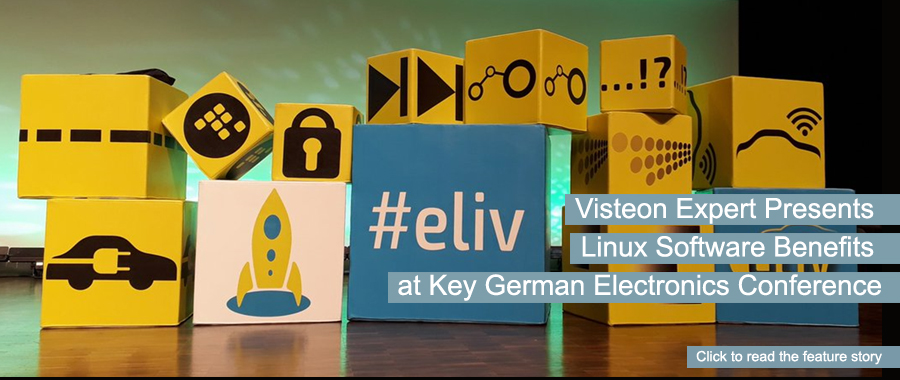 Visteon Expert Presents Linux Software Benefits at Key German Electronics Conference