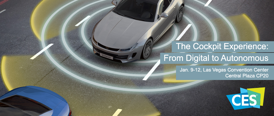 Visteon Showcases New Technology for the Digital Cockpit on the Road to Autonomous Driving