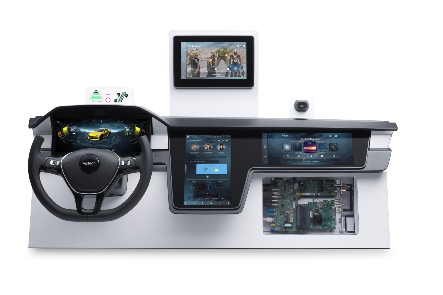 Visteon Showcases Next-Generation Cockpit Electronics Featuring Latest Automotive Solutions from Qualcomm at CES 2019